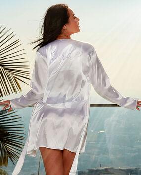 e39641317 Bride Robe · White