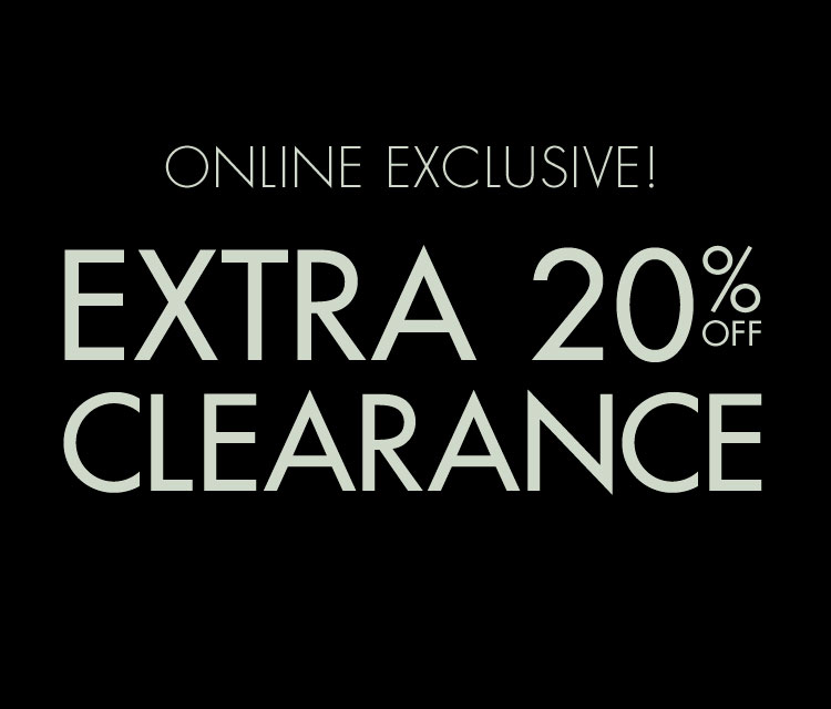 f4273d632 Online exclusive! Extra 20% off clearance.