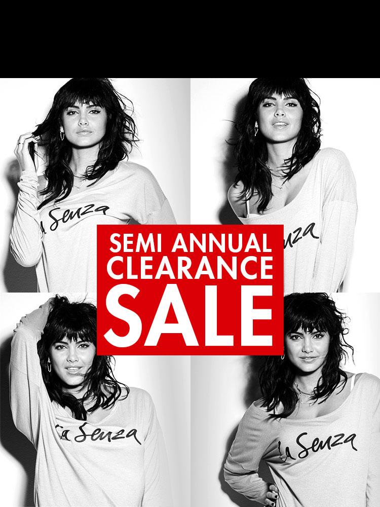 1e14f6d19 Semi Annual Clearance Sale.