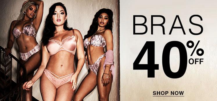 26396e31d2d Bras 40% off. Shop now. Panties · Shop All Panties · Panty Styles